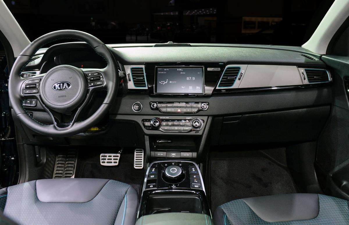Miami Lakes Automall Kia Niro EV Interior