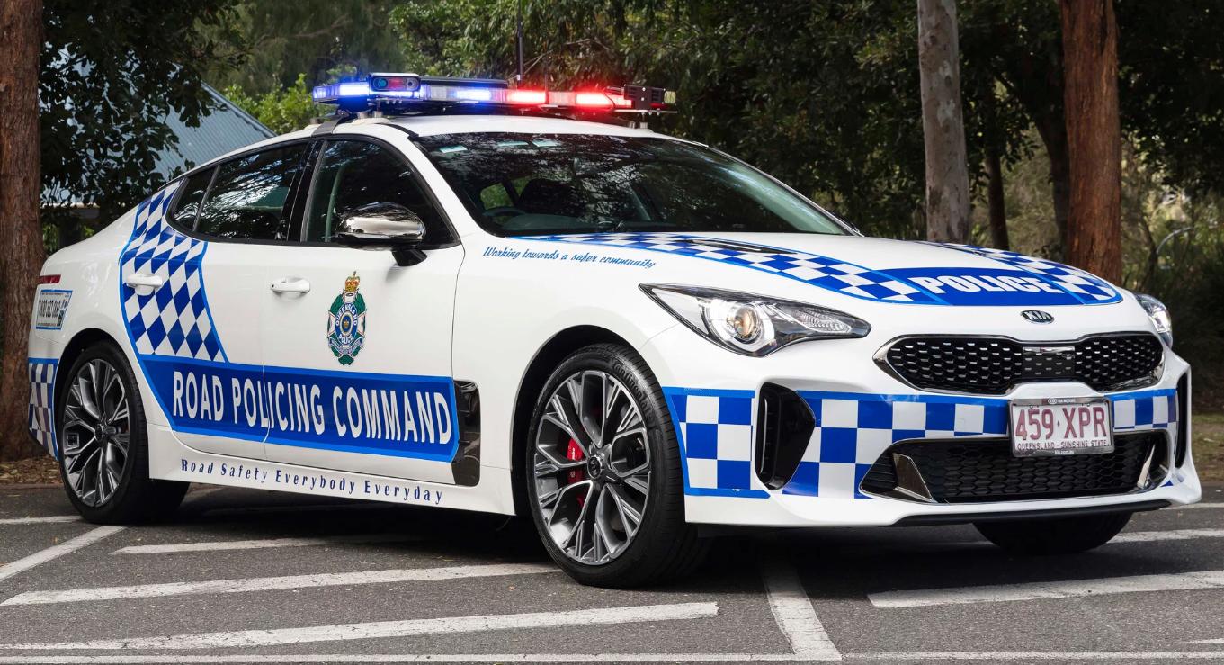 Miami Lakes Automall Kia Stinger Police Cruiser