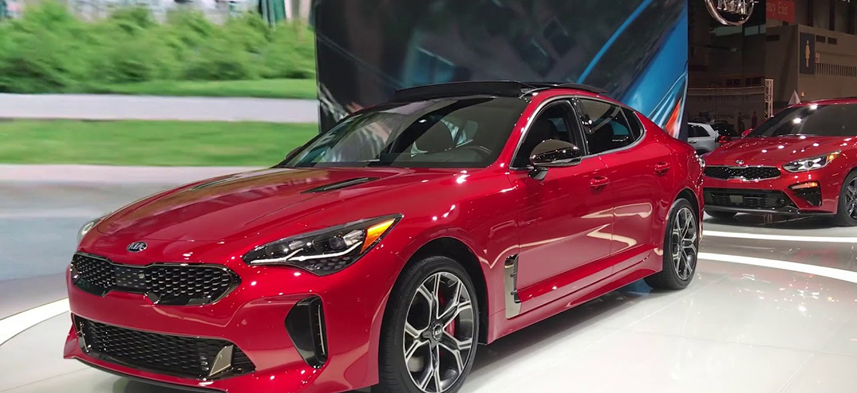 The Latest Kia Stinger Will Take You By Storm