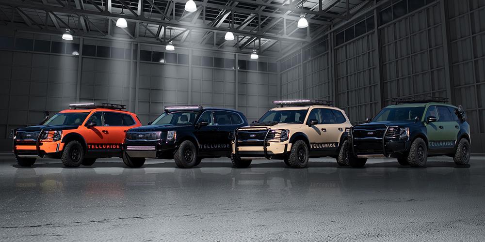 Kia Rolls into SEMA 2018 with New Concepts