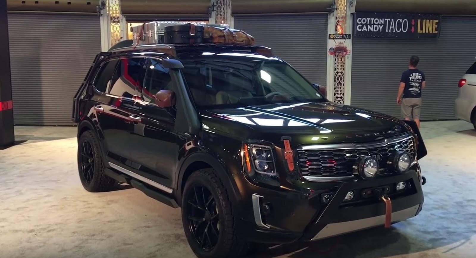 Kia Telluride Teased Before 2019 Auto Show