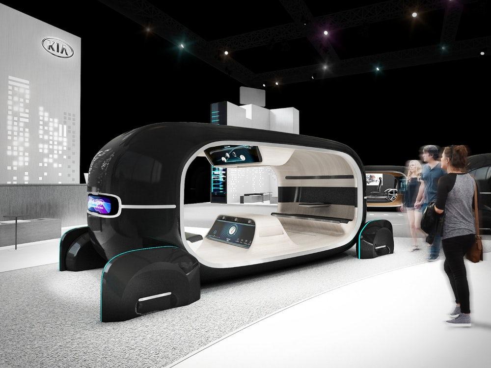 Miami Lakes Kia Autonomous Vehicle Emotional Gesture Tracking 2019 CES
