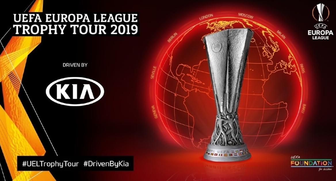 Kia Motors to Launch Inaugural UEFA Europa League Trophy Tour