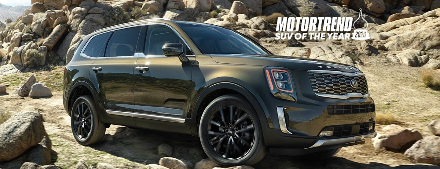 2020 Kia Telluride Named SUV of the Year by Motor Trend