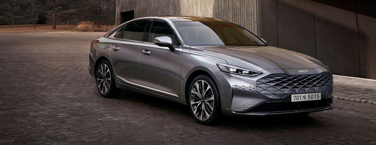 A Look at the Luxury Kia K8 Exterior