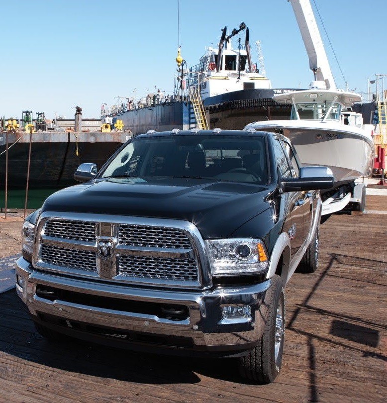Miami Lakes 2017 Ram 2500 Towing Big Boat Feature