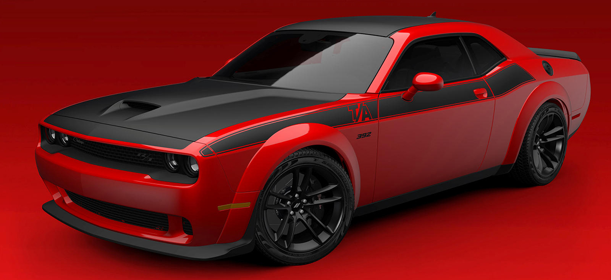 2021 Dodge Challenger Offers Two New Widebody Trims
