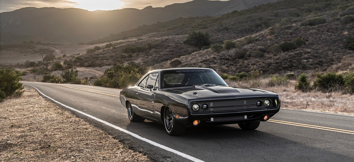 SpeedKore Adds 1,000 Horsepower Engine To 1970 Charger For Kevin Hart
