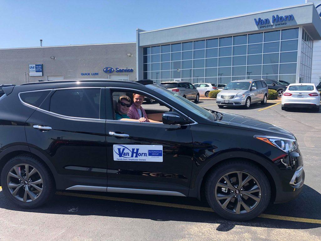 van horn drives in donations for kevin. Black Bedroom Furniture Sets. Home Design Ideas