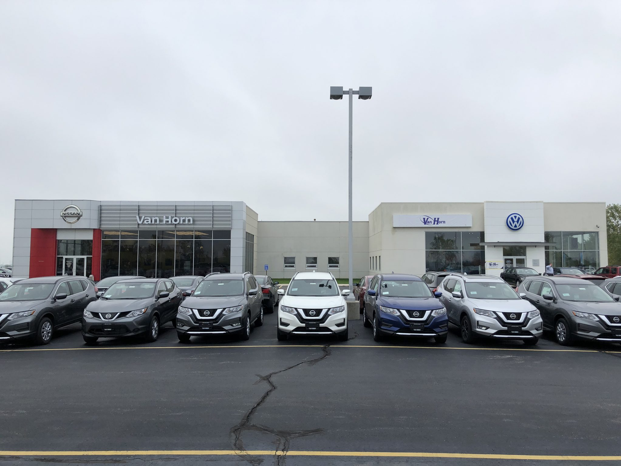 Nissan VW Sheboygan Dealership Pic
