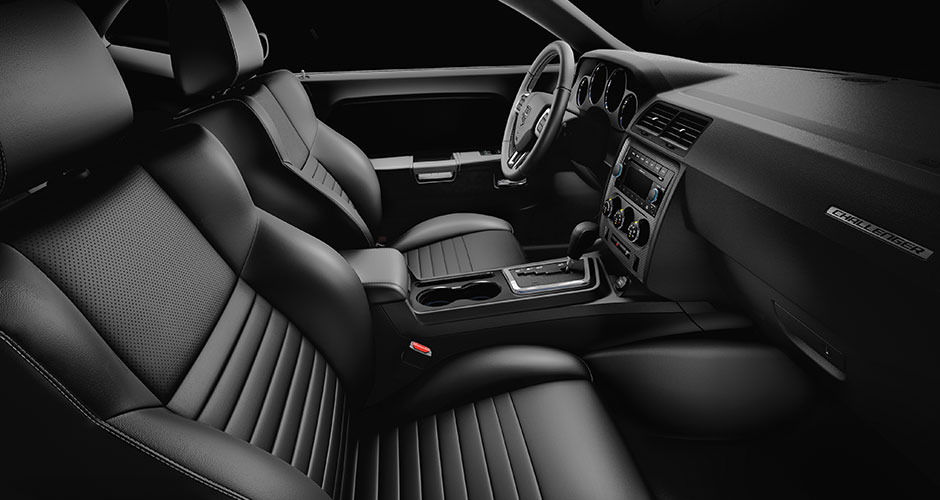 Challenge Yourself In This Classic From Dodge » 2014 Challenger Interior  Leatherside