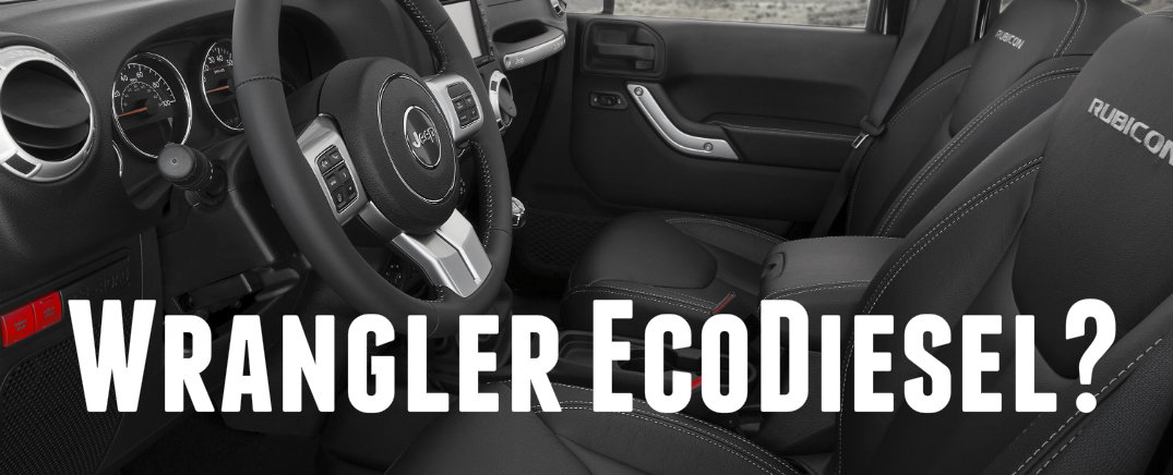 Jeep Wrangler to get EcoDiesel 8-Speed Automatic