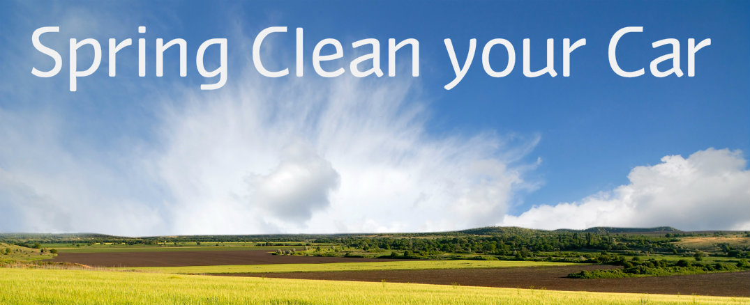 Spring cleaning checklist for the car racine wi What is spring cleaning