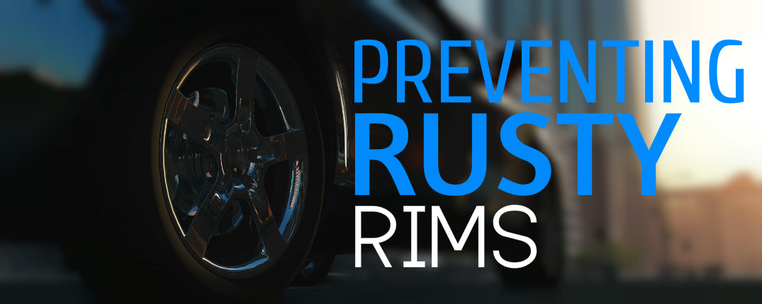 how to clean rusty chrome rims