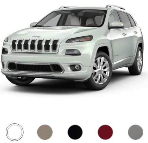 2017 Jeep Cherokee Overland Color Options_o