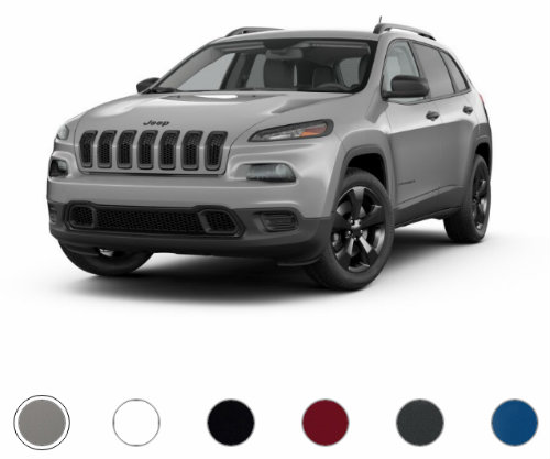 2017 Jeep Cherokee Sport Altitude Limited Edition Color