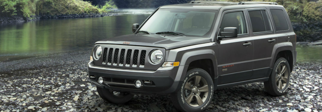 How much room is in the Jeep Patriot?