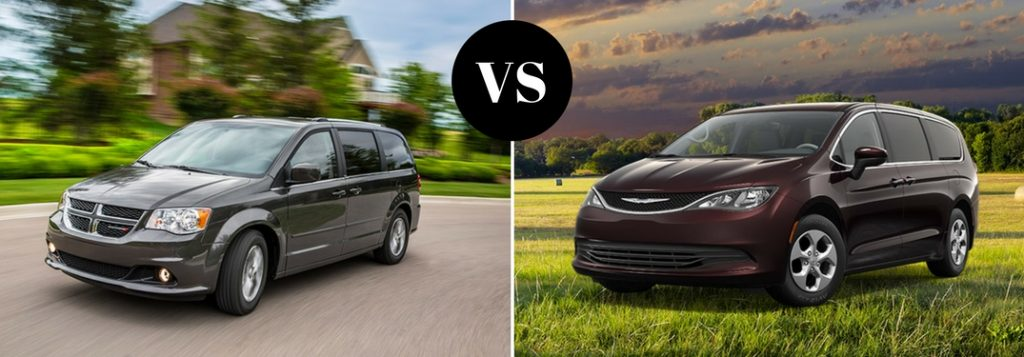 2017 Dodge Grand Caravan vs 2017 Chrysler Pacifica