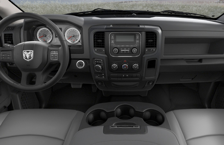 Dashboard And Cockpit Of 2018 Ram 1500