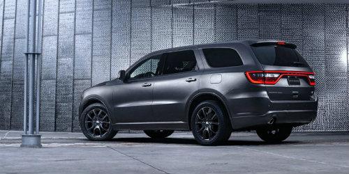 2019 Dodge Durango SXT parked in garage