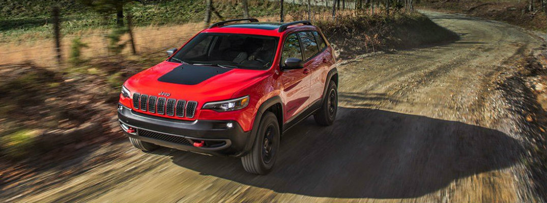 How much interior room is in the 2019 Jeep Cherokee?