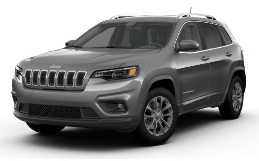 2019 Jeep Cherokee Billet Silver Metallic