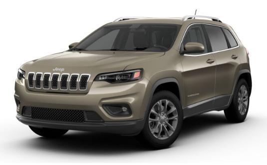 2019 Jeep Cherokee Light Brownstone