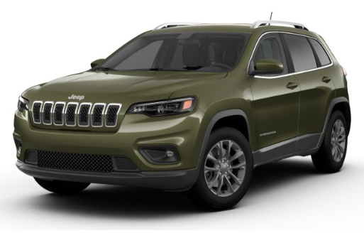 2019 Jeep Cherokee Olive Green