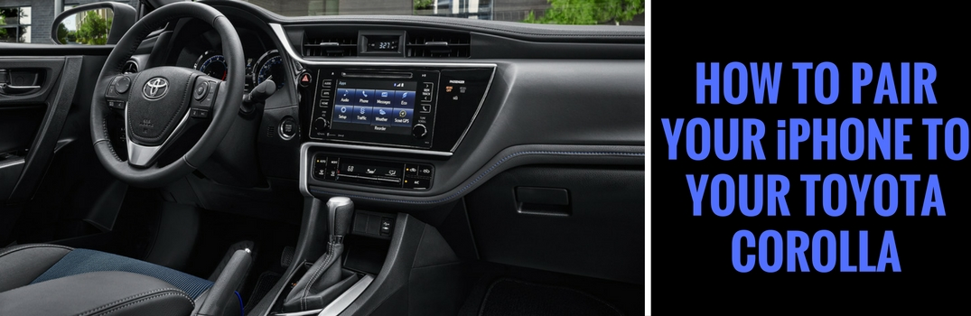 how to connect phone to car bluetooth toyota