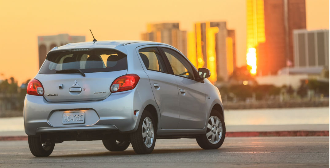 2015 Mitsubishi Mirage recognized in fuel-efficient car list