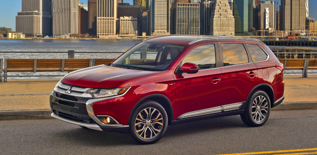 New 2016 Mitsubishi Outlander Earns 4 Star Safety Rating