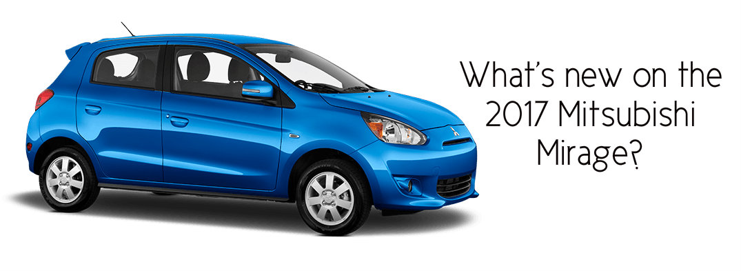 when is the 2017 mitsubishi mirage release date