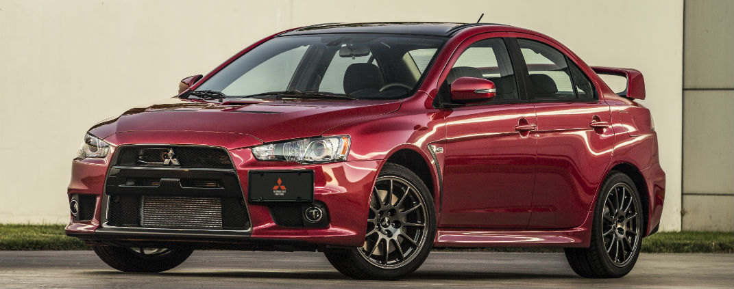 Mitsubishi Lancer Final Edition Auction