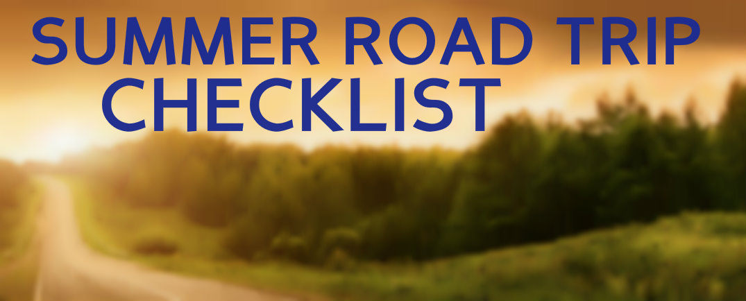 summer road trip checklist