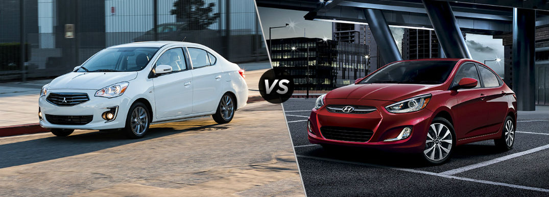 mitsubishi mirage g4 vs hyundai accent