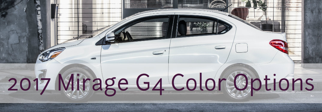 Mirage G4 color Options