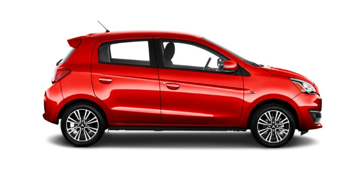 2018 Mitsubishi Mirage Infrared Metallic