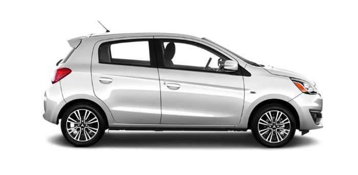 2018 Mitsubishi Mirage Starlight Silver Metallic