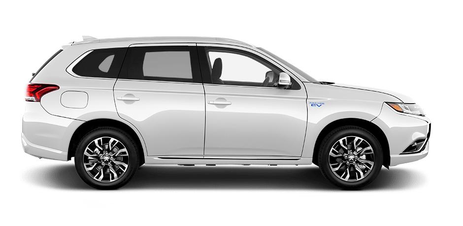 Image result for 2018 Mitsubishi Outlander PHEV white