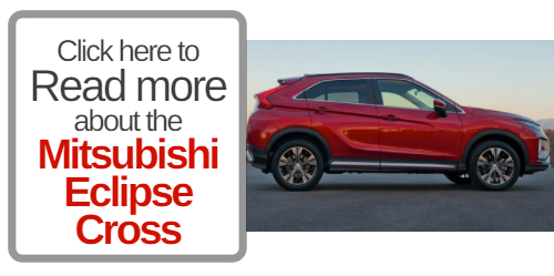 button that says click here to read more about the Mitsubishi eclipse cross