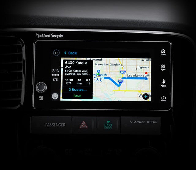 2018 Mitsubishi Outlander Android Auto and Apple CarPlay