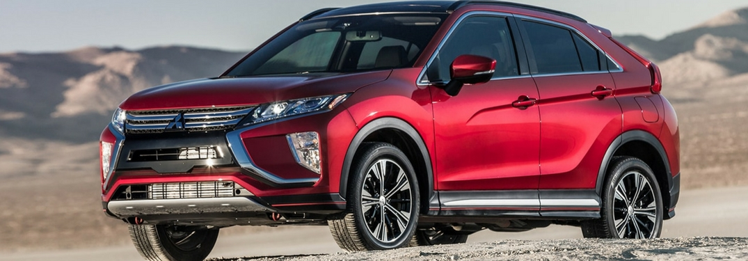 full view of the 2018 Mitsubishi Eclipse Cross