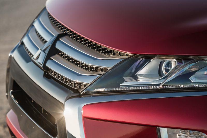 exterior front fascia of the 2018 Mitsubishi Eclipse Cross