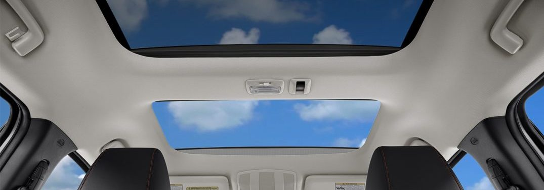 head space inside the 2018 Mitsubishi Eclipse Cross