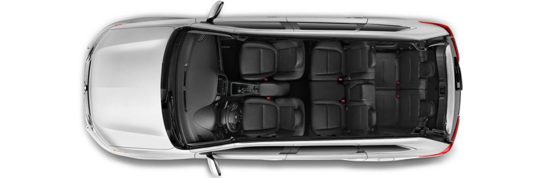 interior space and seating in 2018 mitsubishi outlander