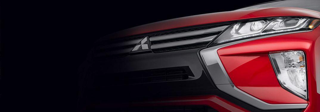 front fascia of the Mitsubishi Eclipse Cross