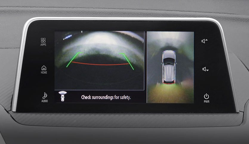 backup camera of the 2018 Mitsubishi Eclipse Cross