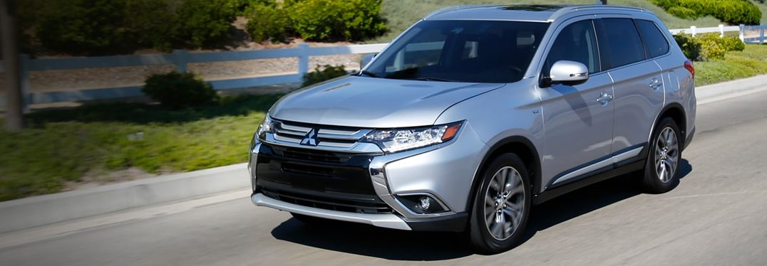 full view of the 2018 Mitsubishi Outlander