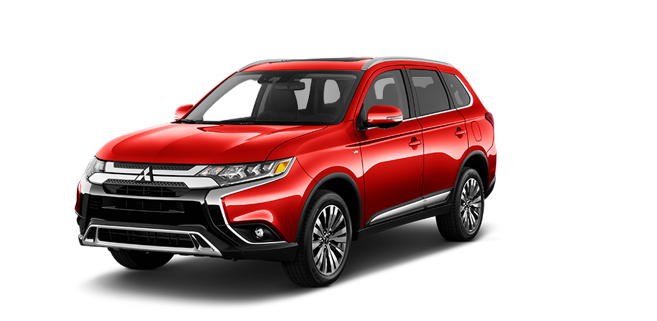2019 Mitsubishi Outlander Rally Red Metallic
