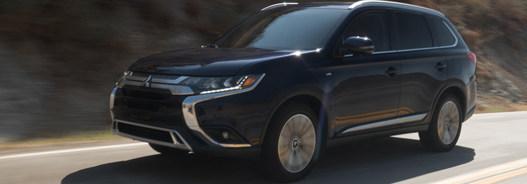 What colors does the new 2019 Mitsubishi Outlander come in?